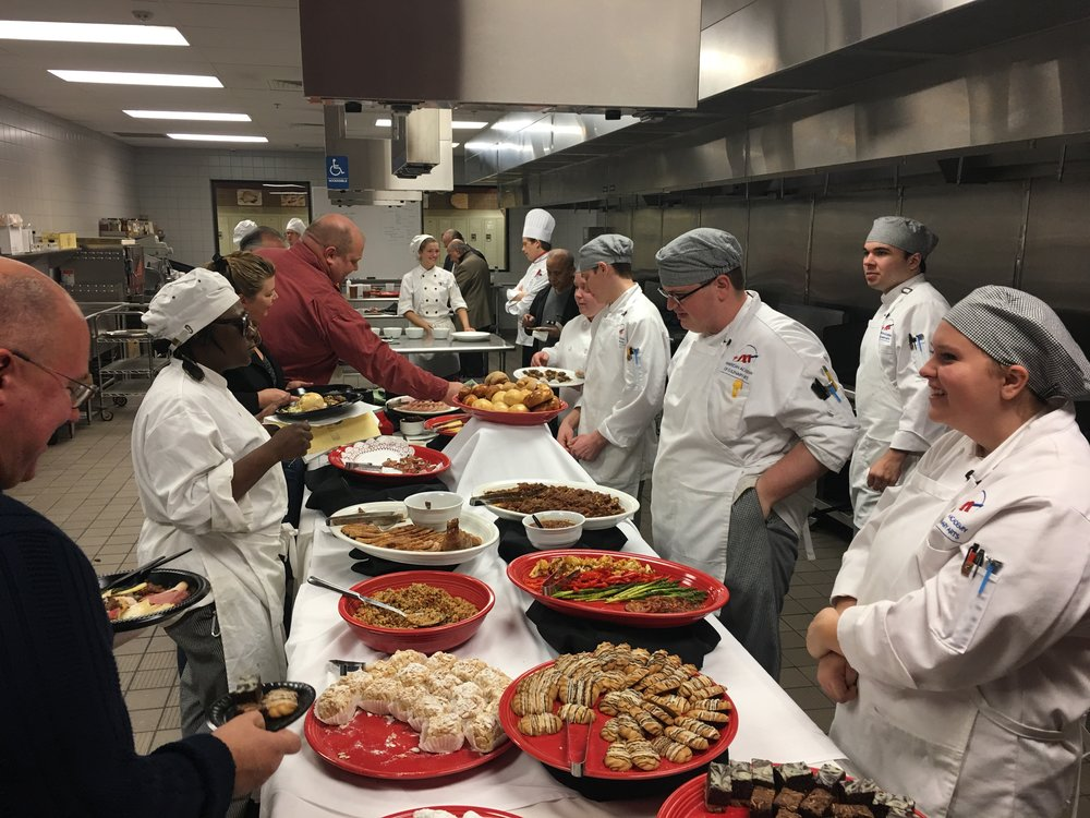 Charcuterie and Desserts prepared by PTC students.JPG