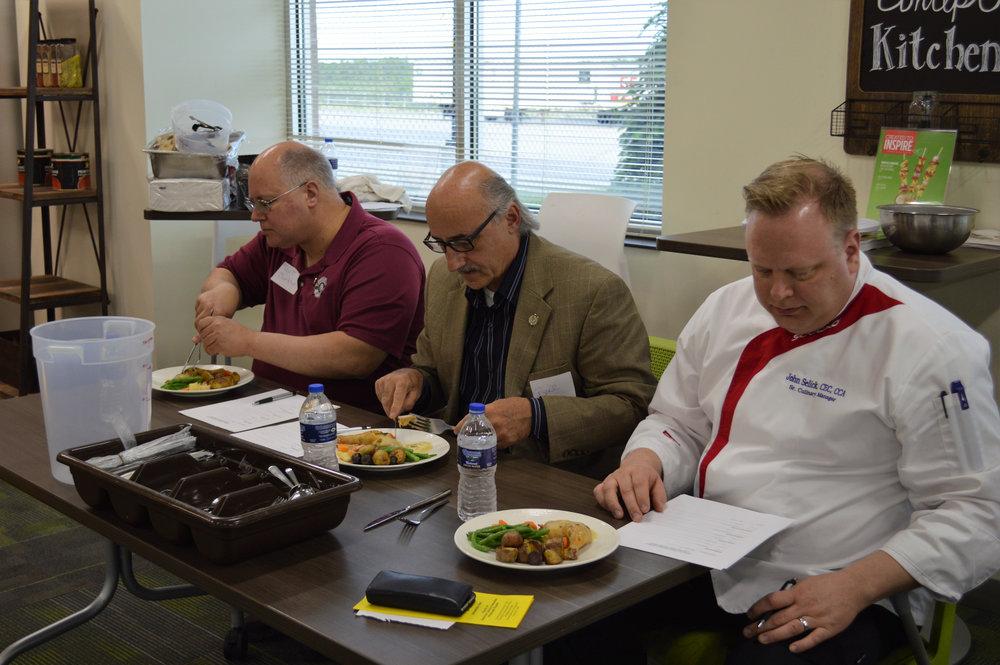 Judges - Scott Burkhart, Bill Hunt, and John Selick