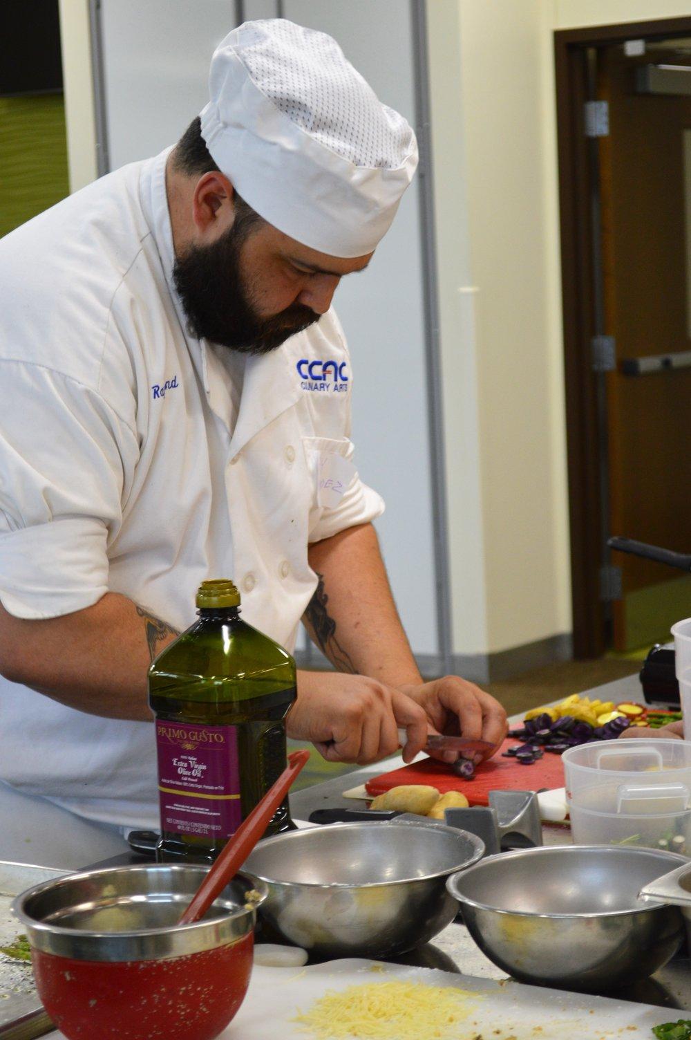 Raymond Mender Cooking.JPG