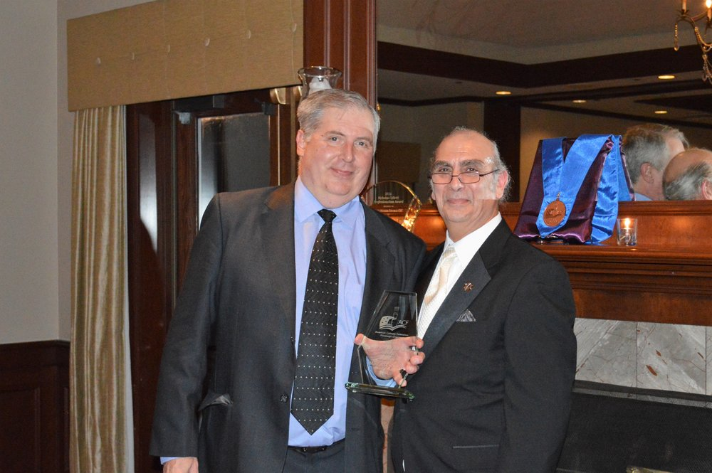 Purveyor of the Year - Mike Rykaceski from Sesco with Rikk Panzera.JPG