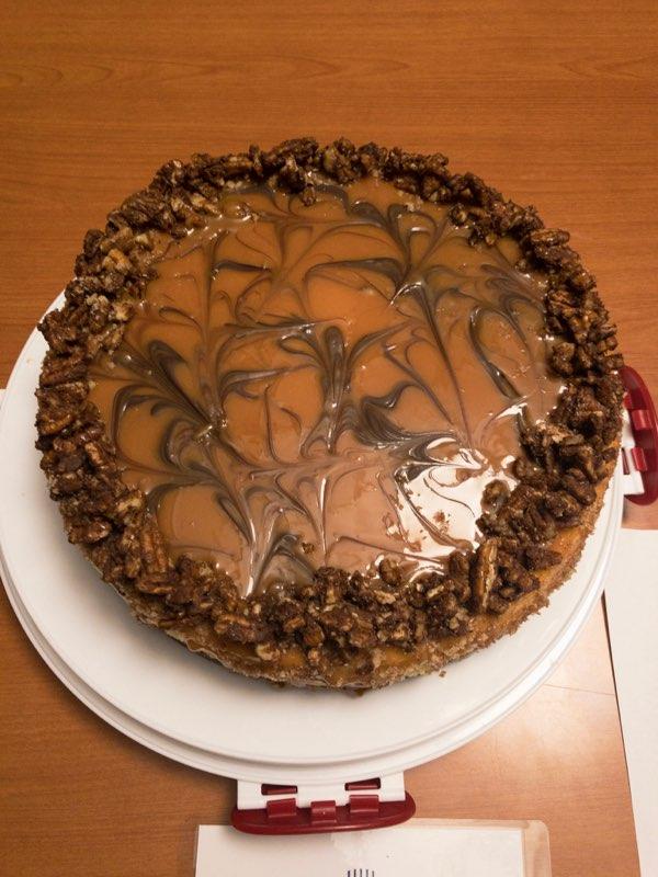 Ed Colon: Chocolate Turtle Cheesecake