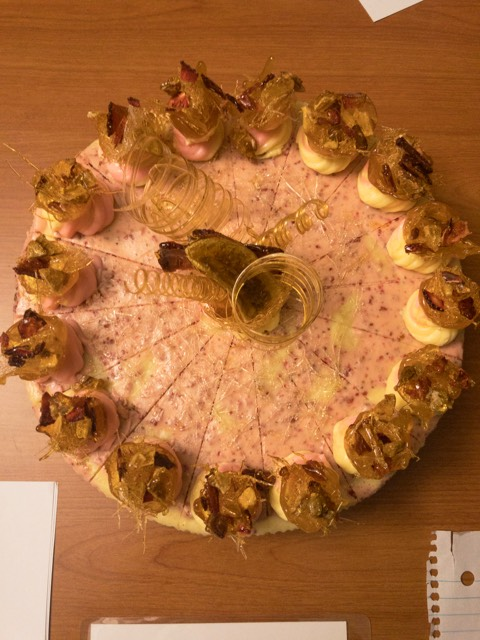 3rd place - Richard Grabowski - Strawberry Banana Cheesecake