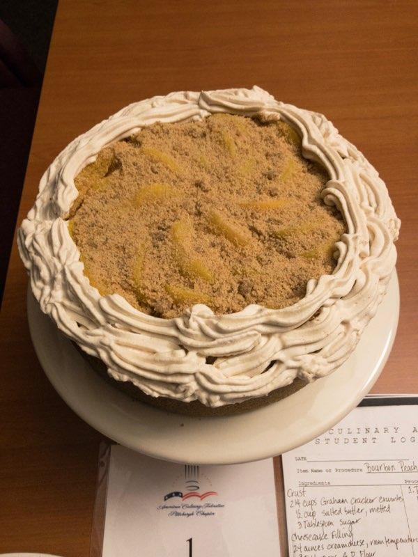 Cameo Moorefield, self-employed - Bourbon Peach Cheesecake