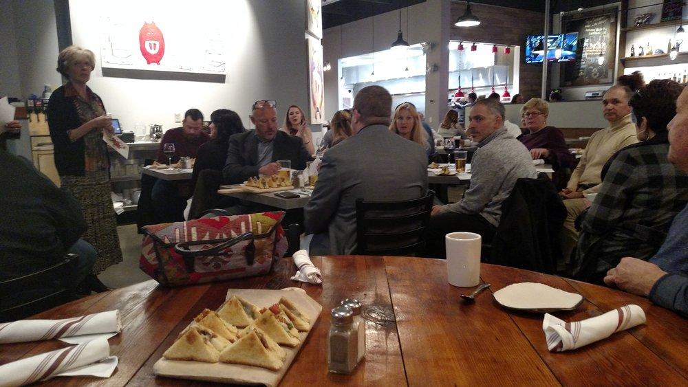 November's Social Meeting at Bak'n in Warrendale.  Photo courtesy of Scott Burkhart.