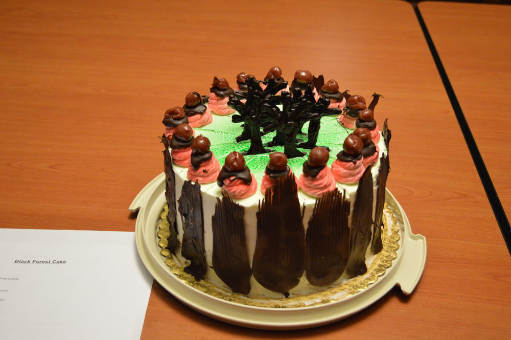 3rd Place - Richard Grabowski, Bidwell Training Center - Black Forest Cake