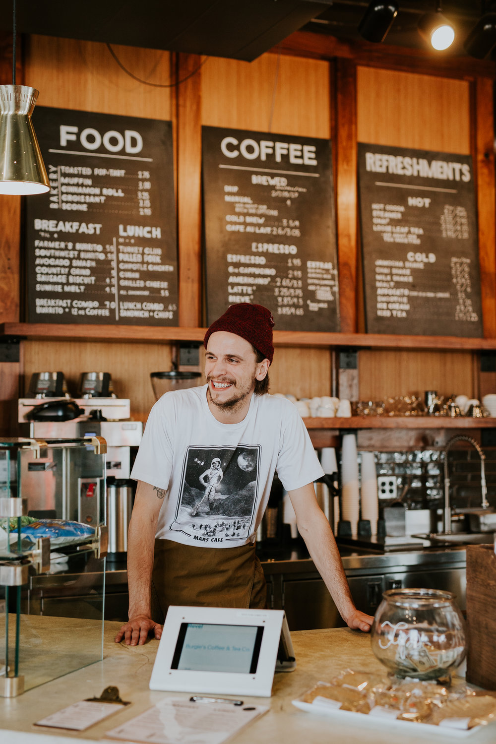 Join Our Team - Working in our shops is extremely fun and truly feels like you're part of a family. If you've ever wanted to become a barista and further your knowledge in coffee, we are always taking applications. Aquire applications at any of our locations.