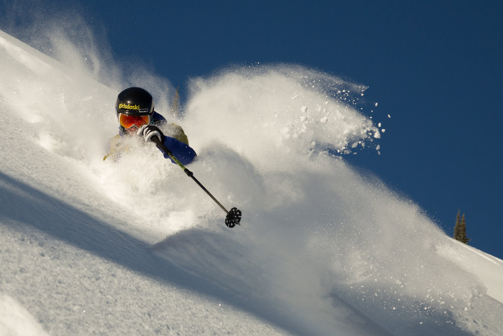 Leah Evans - Creative, courageous leader empowering female skiers.