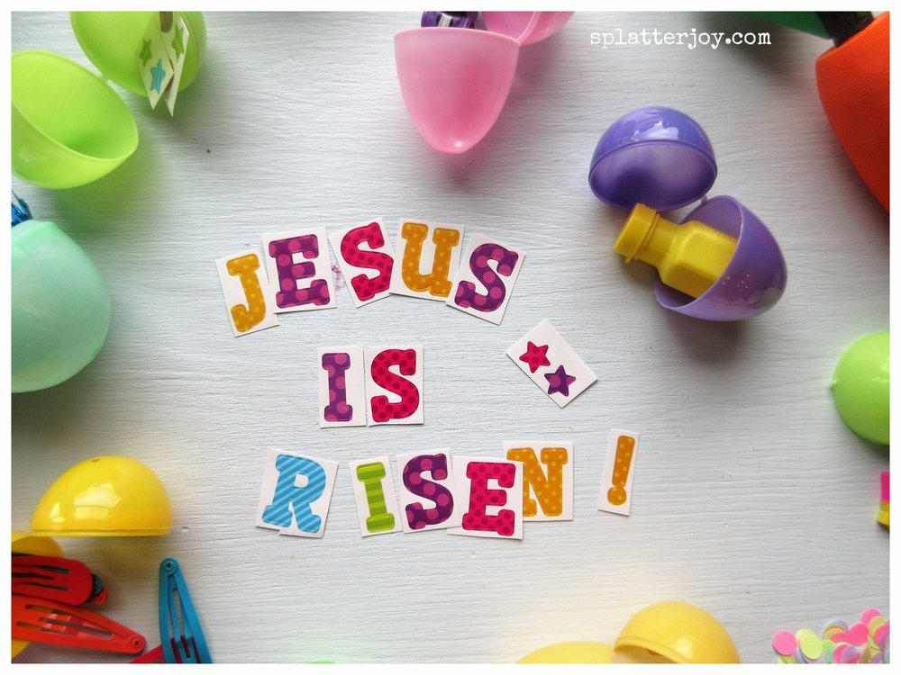 He is risen, indeed!