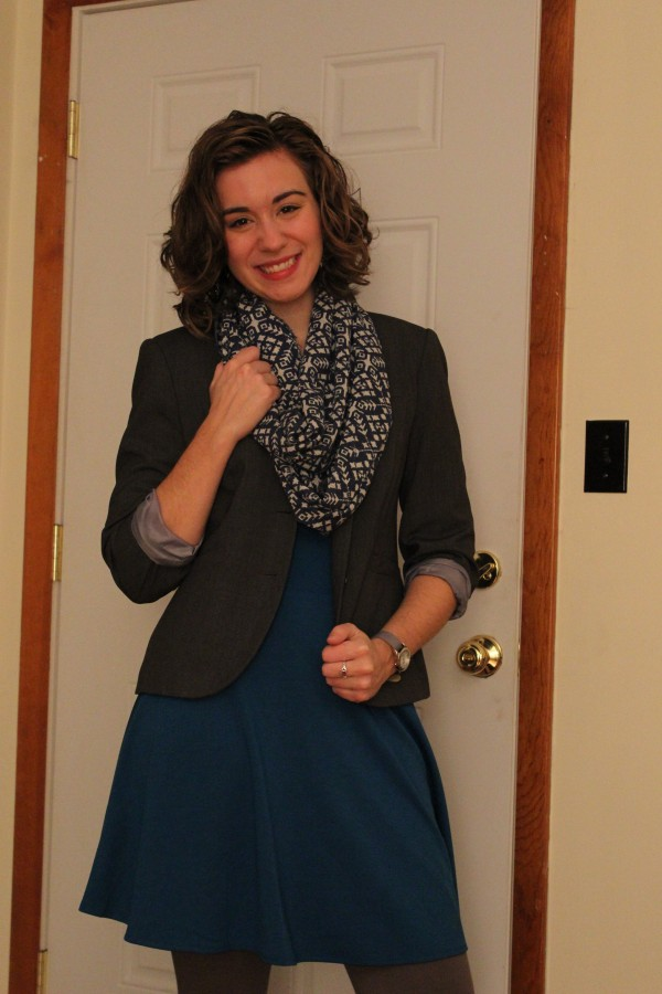 Modcloth Dress and Blazer1