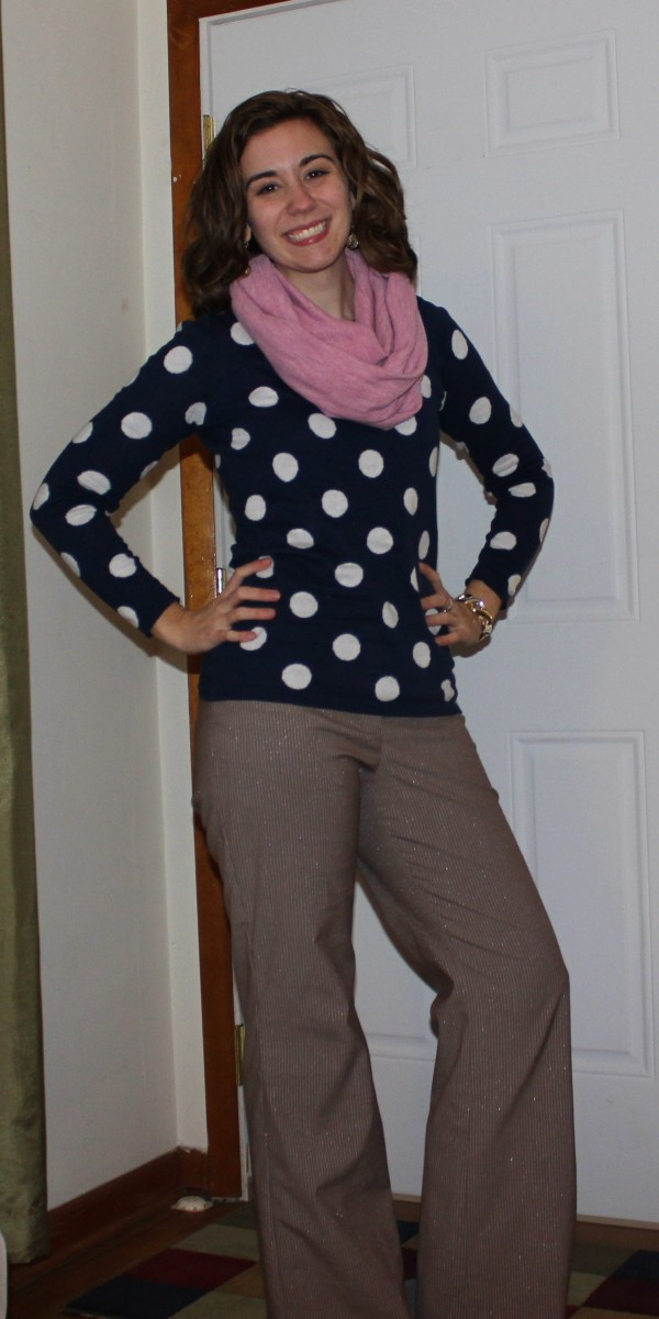 Polka Dot Sweater 1