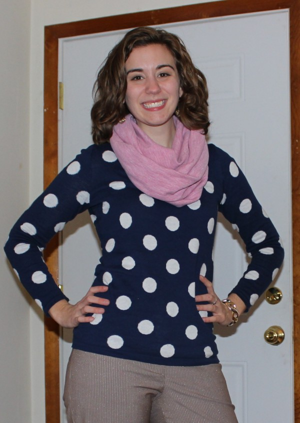 Polka Dot Sweater 2