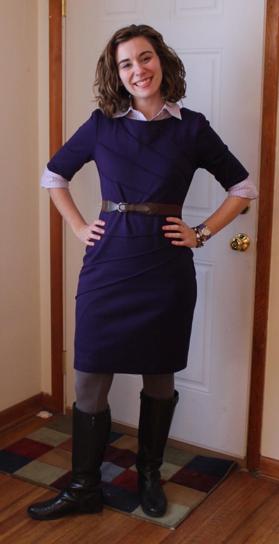 Remixed Purple Dress