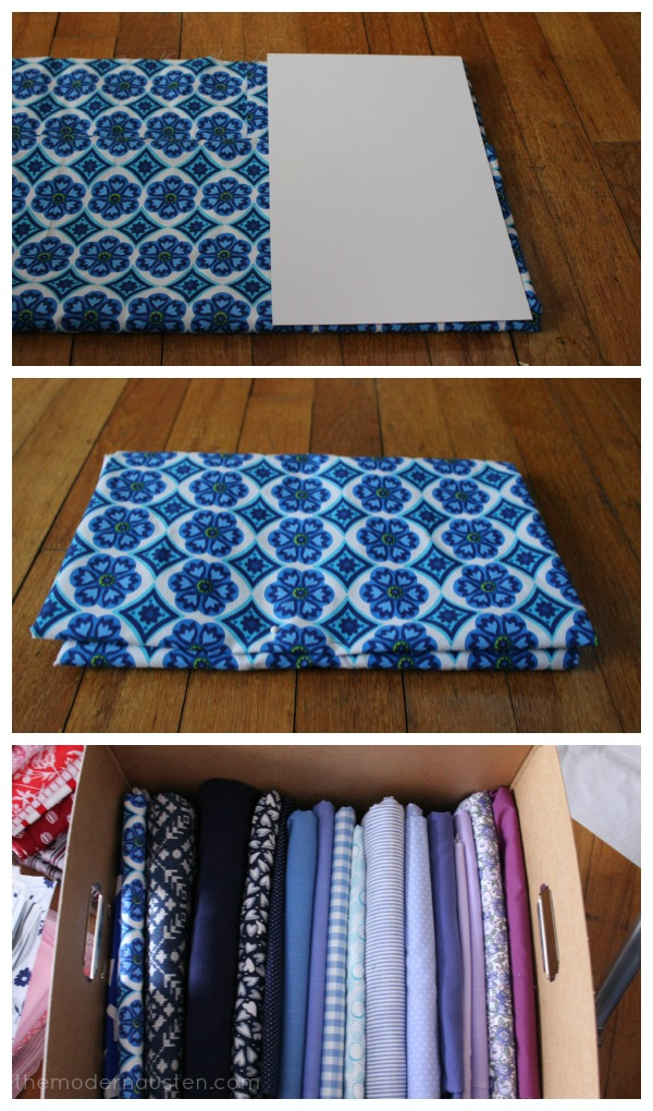 Organizing Fabric the Easy Way 2