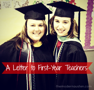 A Letter to First-Year Teachers