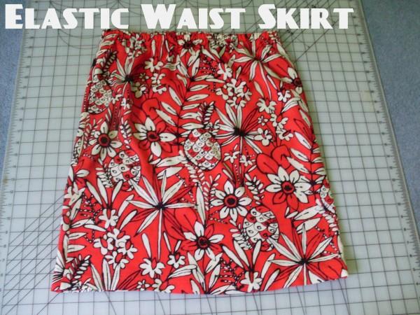 Elastic Waist Skirt 1
