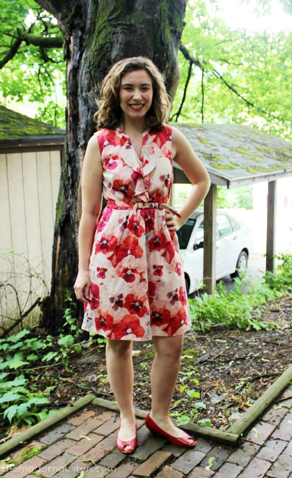 LOFT Floral Dress 1