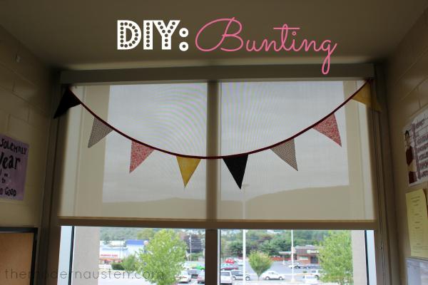 DIY Bunting