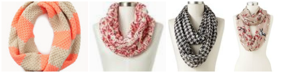 Fall Infinity Scarves