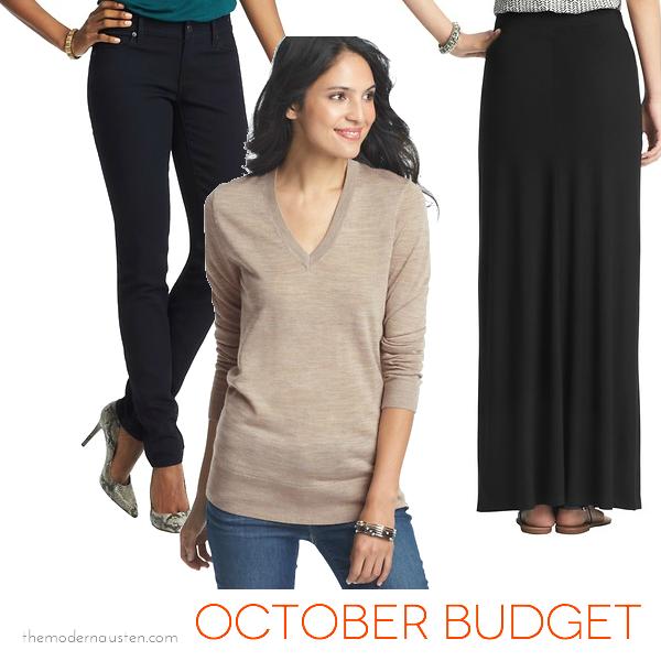 October Budget