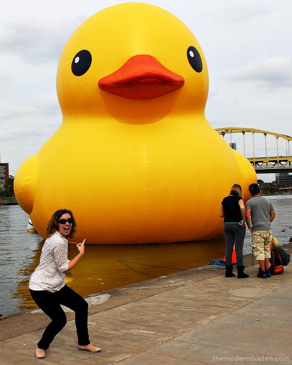 Pittsburgh Duck 1