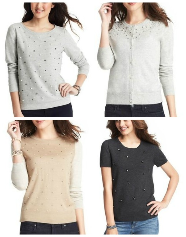 LOFT embellished tops