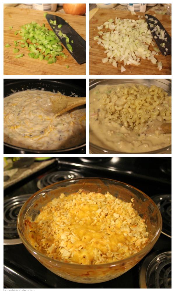 Tuna Noodle Casserole Steps