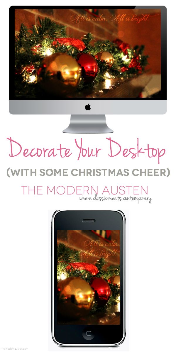 Decorate Your Desktop_Christmas 2013