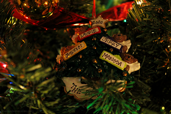 Favorite Christmas Ornaments 1