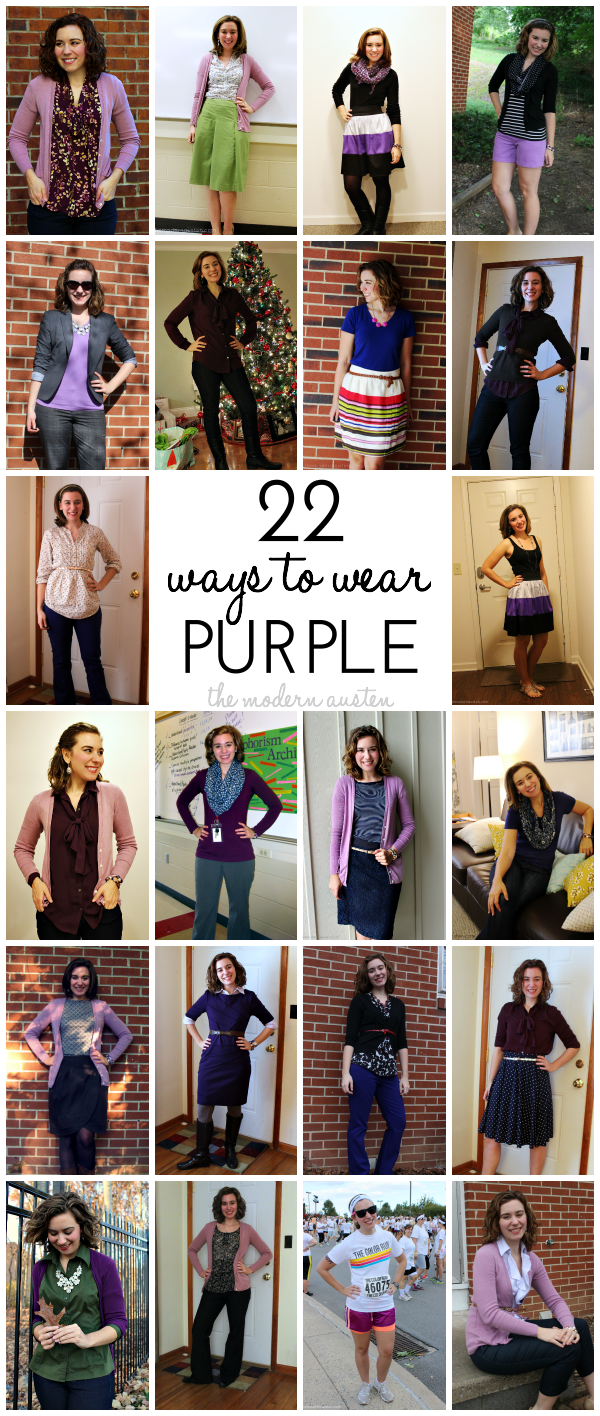 22 Ways to Wear Purple 2