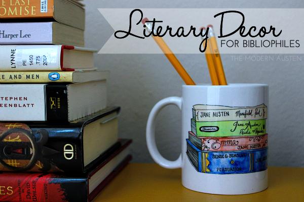 Literary Decor for Bibliophiles2
