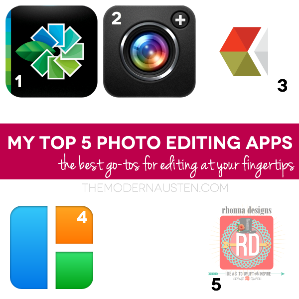 My Top 5 Photo Editing Apps 3