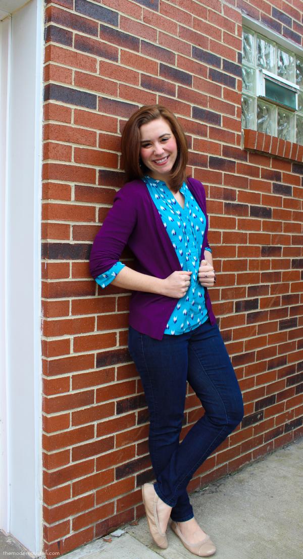 Ikat-Tunic-Purple-Cardigan-Jeans-2