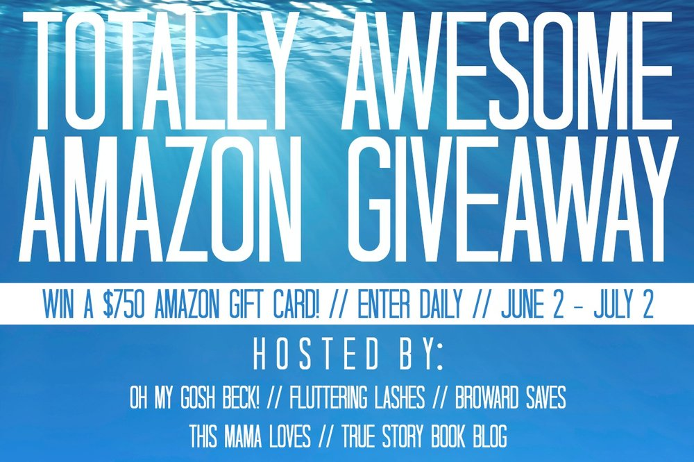 Totally Awesome Amazon Giftcard Giveaway