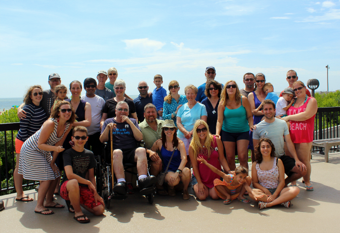 Bethany Beach Family Vacation Group Photo