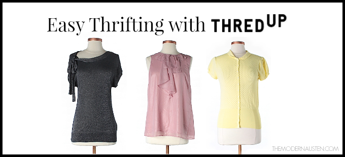 Easy Thrifting with ThredUp