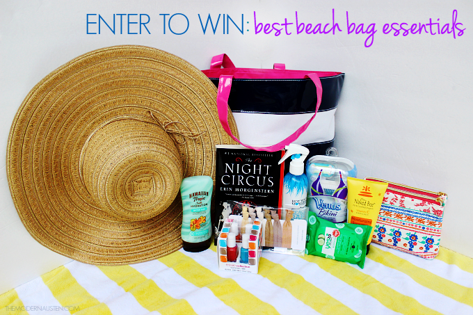 Enter to win best beach bag essentials