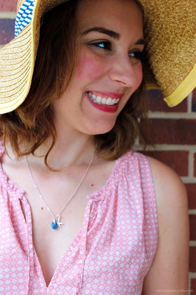 Everyday summer jewelry is delicate and complimentary, not overdone