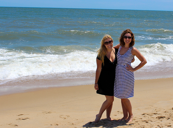 Kim and Marissa in Ocean City