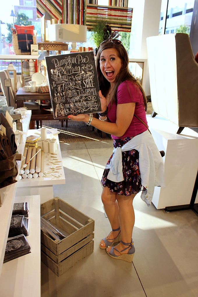 Angelica at West Elm Pittsburgh Media Preview