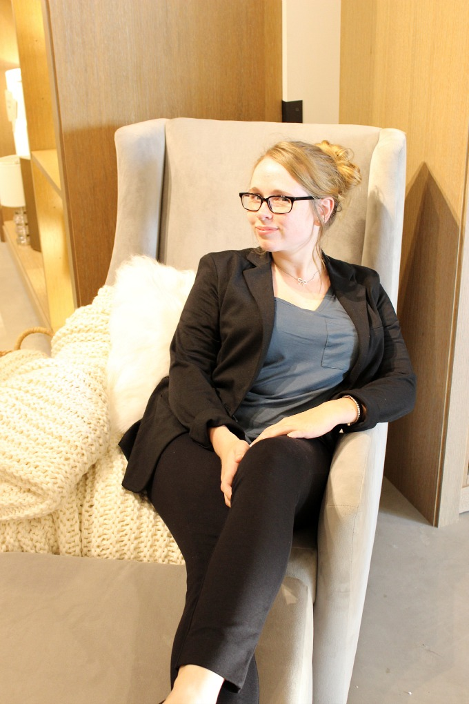 Kristin at West Elm Pittsburgh Media Preview