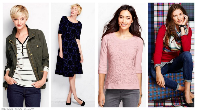 Land's End Fall Favorites