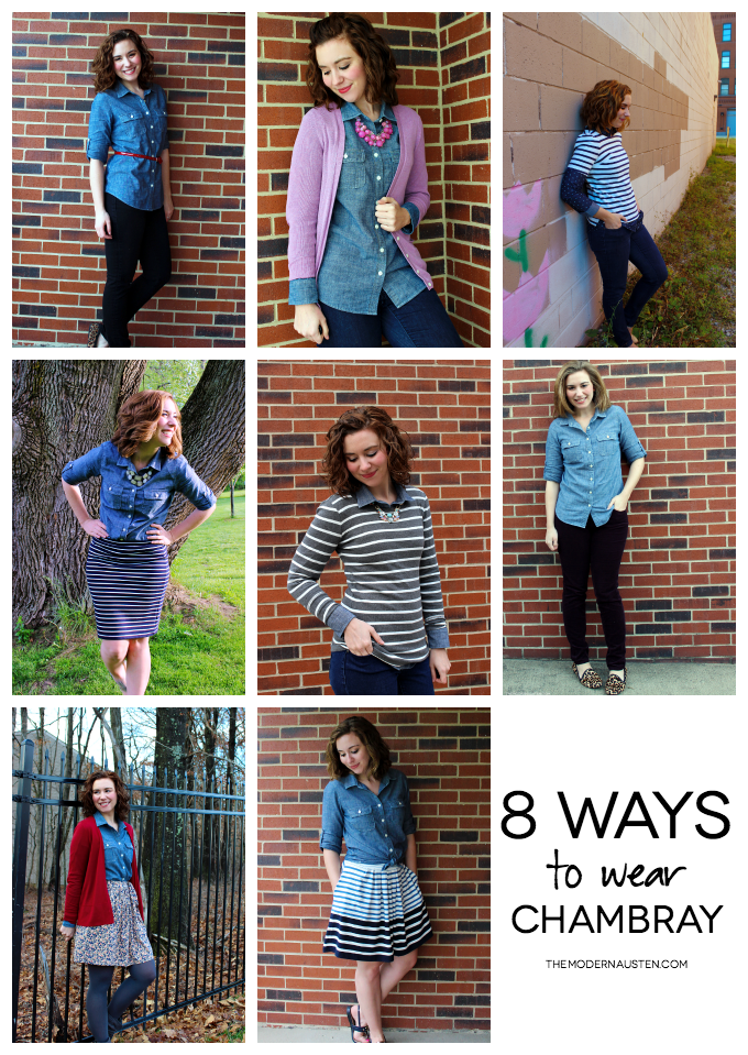 8 Ways to Wear Chambray