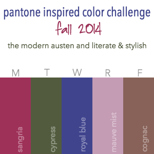 Fall 2014 Pantone Inspired Color Challenge Button