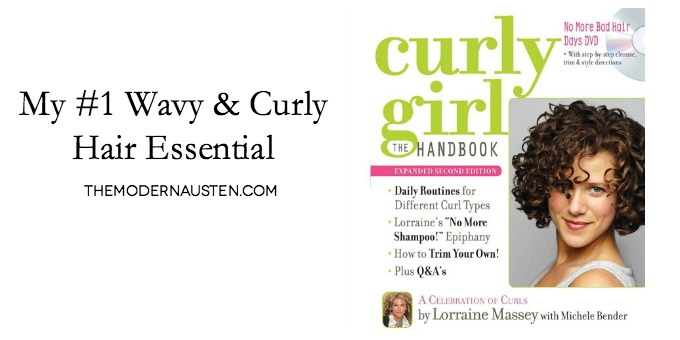 Curly Girl The Handbook is my #1 Wavy and Curly Hair Essential