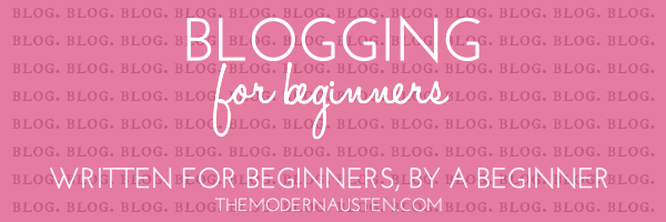 Blogging for Beginners 2