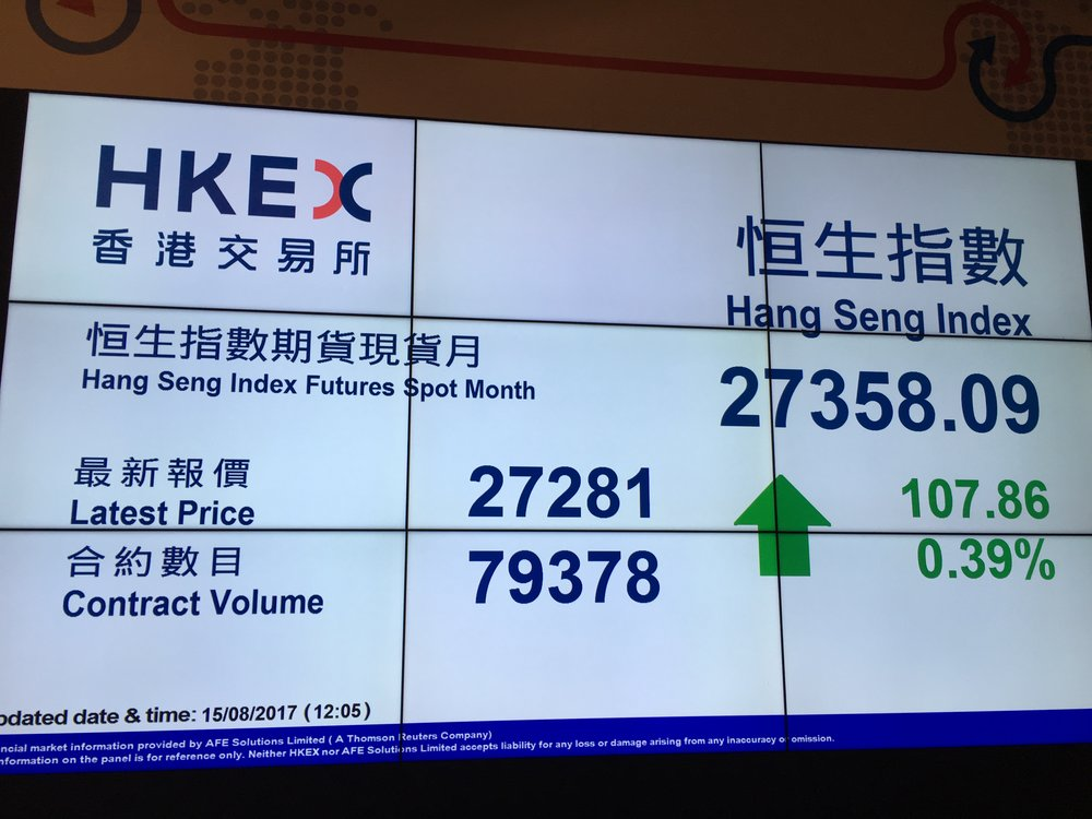 HKEX thinking about attracting more tech issuers to its boards (author's photo)