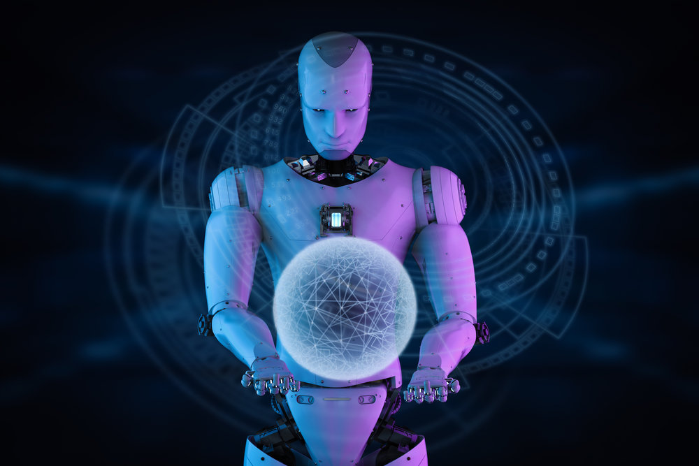 AI driven crime predicting crystal ball (licensed by Getty Images)