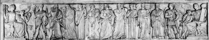 Gathering of wisdom: Moses, Solomon, Menes and Confucius (US Supreme Court public domain)
