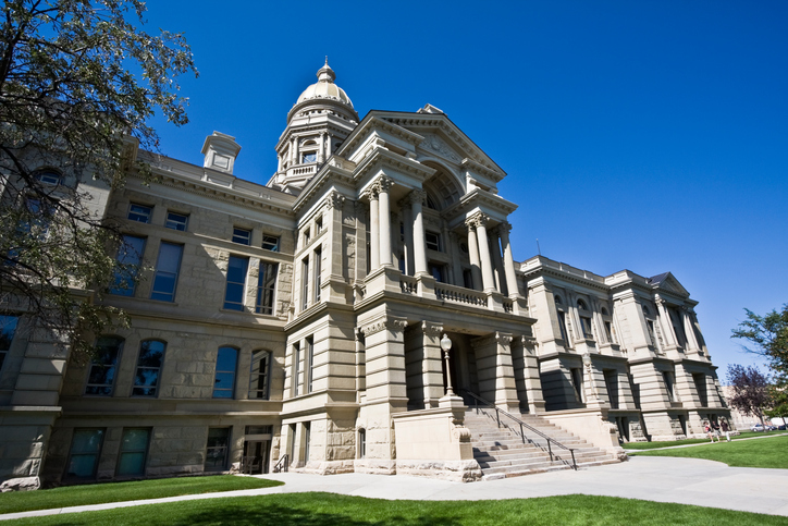 Wyoming legislature busy at work to pass business-friendly fintech laws. (Getty Images license)