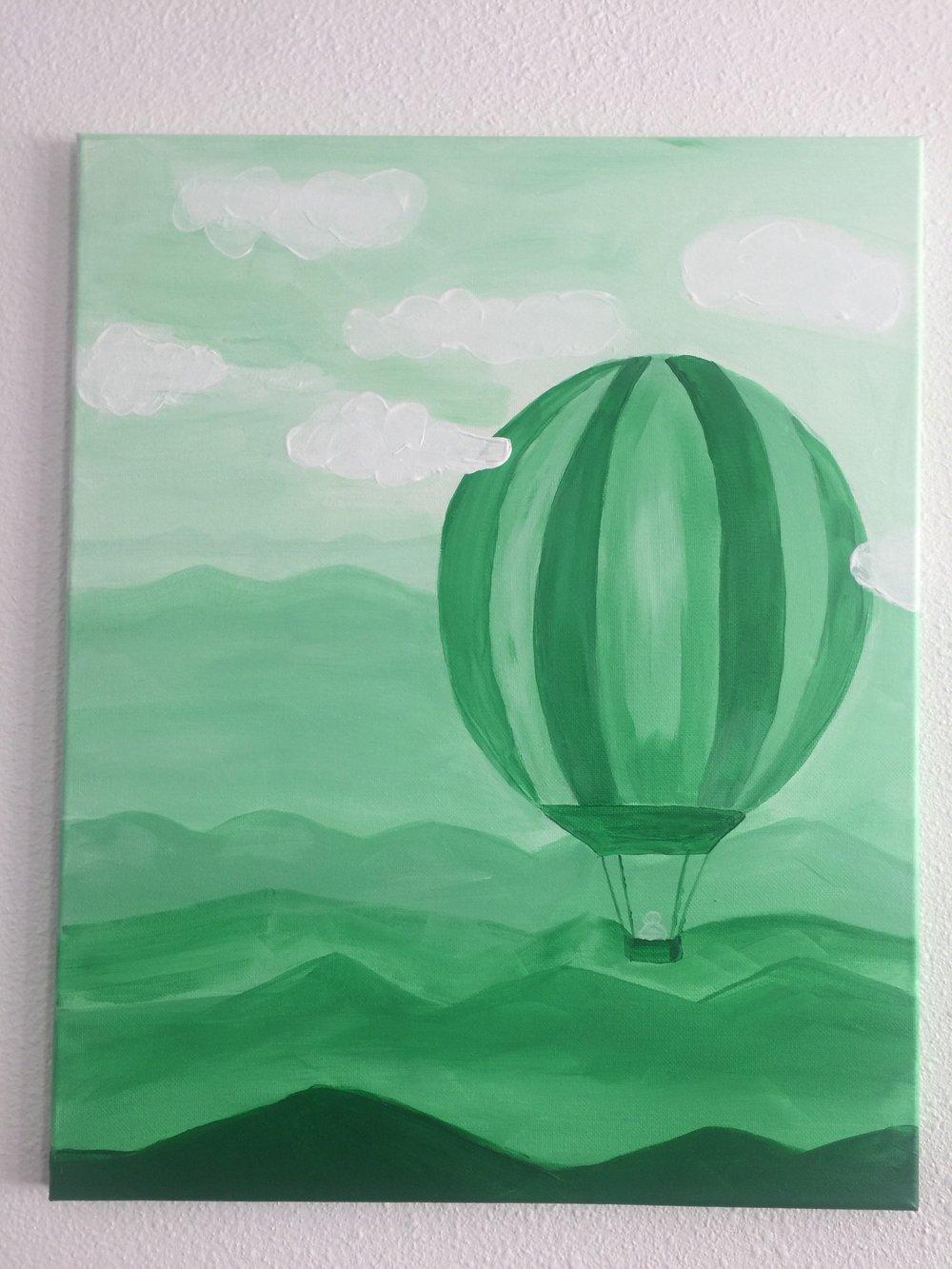 Hot Air Balloon - 16 x 20